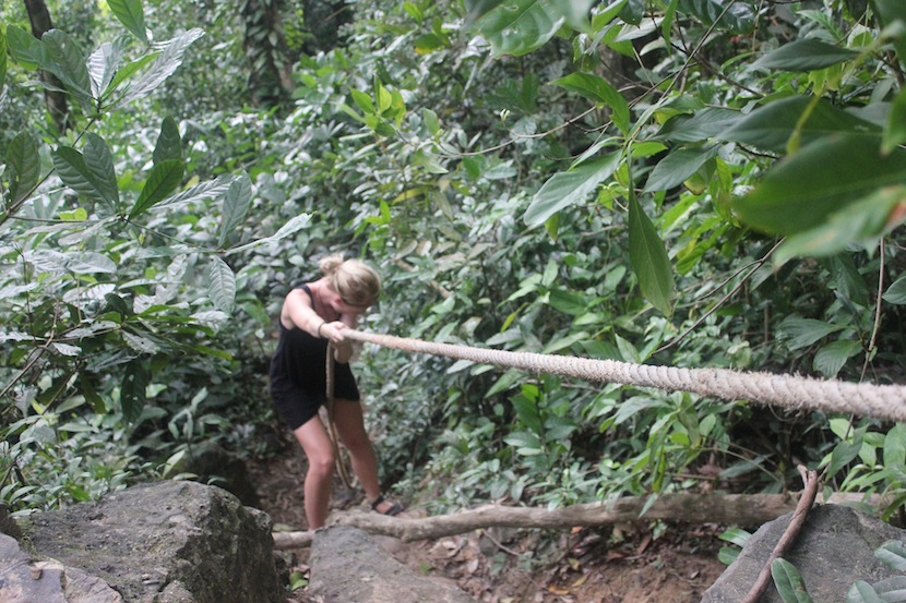 trekking-on-koh-rong jungle