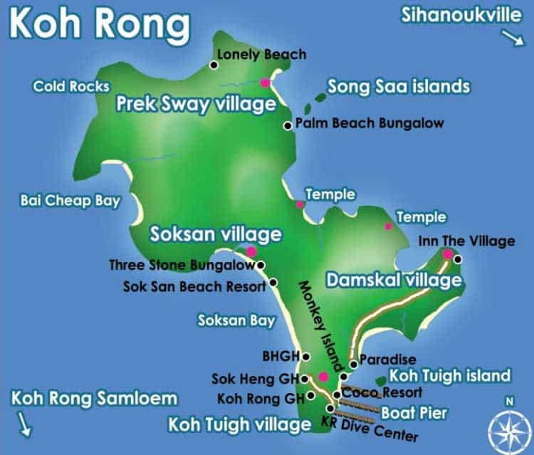 Koh Rong Map: Where is It? | Koh Rong Island Official Travel Guide Koh Rong Cambodia Map on pailin cambodia map, takeo cambodia map, kampot cambodia map, pursat cambodia map, khmer rouge cambodia map, sen monorom cambodia map, kratie cambodia map, cambodia islands map, kompong som cambodia map, battambang cambodia map, sisophon cambodia map, mondulkiri cambodia map, stung treng cambodia map, angkor wat cambodia map, siem reap cambodia map, kep cambodia map,
